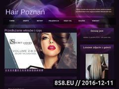 Miniaturka domeny www.hair-poznan.pl