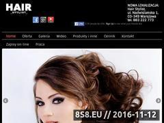Miniaturka domeny hairstylist.pl