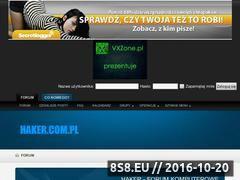 Miniaturka domeny haker.com.pl