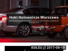 Miniaturka hakiholownicze.warszawa.pl (Haki holownicze Warszawa)