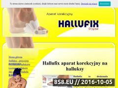 Miniaturka domeny www.halufix.pl