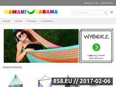 Miniaturka Sprzedaż hamaków, foteli wiszących i stelaży (hamakicabana.pl)