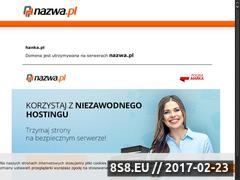 Miniaturka domeny www.hanka.pl