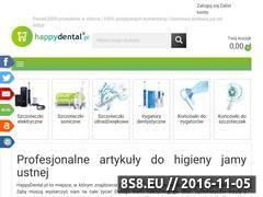 Miniaturka www.happydental.pl (Produkty do higieny jamy ustnej)