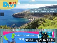 Miniaturka domeny happydive.pl