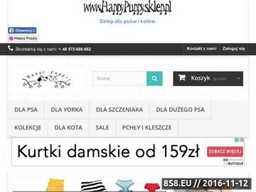 Zrzut strony Akcesoria, ubranka, zabawki oraz karmy dla psów i kotów