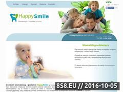 Miniaturka domeny happysmile.com.pl