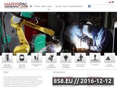 Miniaturka domeny www.harispal.pl