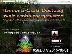 Miniaturka domeny harmonia-czakr.blogspot.com