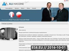 Miniaturka domeny hassine.pl