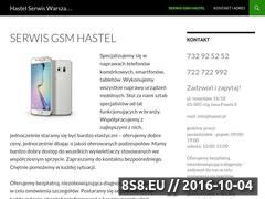 Miniaturka hastel.pl (Serwis iPhone)