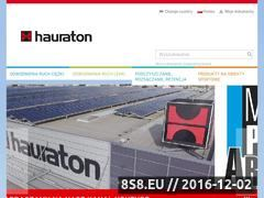 Miniaturka domeny www.hauraton.com.pl