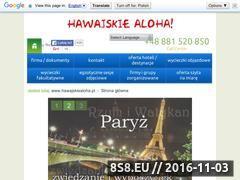 Miniaturka domeny www.hawajskiealoha.pl