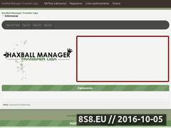 Miniaturka domeny haxball-manager.pl