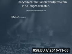 Miniaturka domeny hazywaveofmutilation.wordpress.com