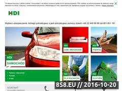 Miniaturka domeny www.hdi-asekuracja.pl