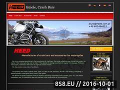Miniaturka Producent gmoli i akcesoriów do motocykli (www.heed.com.pl)