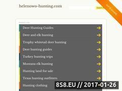 Miniaturka domeny www.helenowo-hunting.com