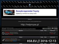 Miniaturka domeny www.helpmyse.wxv.pl