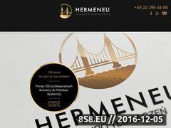 Miniaturka domeny hermeneus.pl