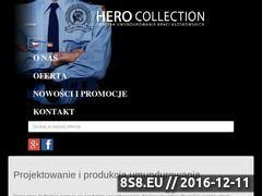 Miniaturka domeny www.hero-collection.com.pl