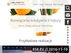 Miniaturka domeny www.heuristic.com.pl