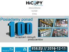 Miniaturka domeny www.hicopy.gdansk.pl
