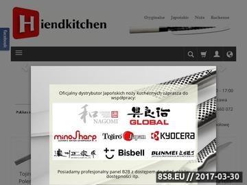 Zrzut strony Hiendkitchen - Niezawodne akcesoria Kuchenne