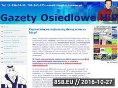 Miniaturka www.hip.o12.pl (Dobra reklama - Gazeta Osiedlowa HIP)