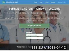 Miniaturka hipochondryk.pl (Objawy chorób, leczenie i darmowe porady medyczne)