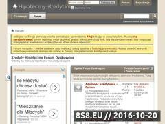 Miniaturka domeny www.hipoteczny-kredyt.info