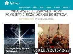 Miniaturka hiromi.pl (Kursy języków obcych)