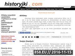 Miniaturka domeny historyjki.com