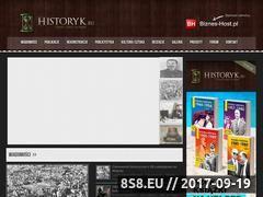 Miniaturka domeny historyk.eu