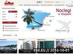 Miniaturka domeny www.hiszpania-apartamenty.pl
