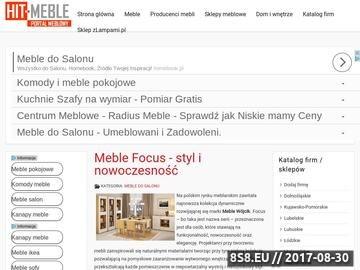 Zrzut strony Meble IKEA