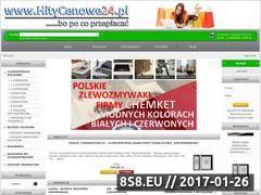 Miniaturka domeny www.hitycenowe24.pl
