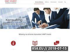Miniaturka hmpinvest.pl (Kancelaria HMP INVEST)
