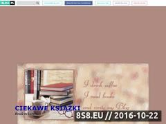 Miniaturka domeny www.hobbyksiazka.blog.onet.pl