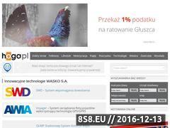 Miniaturka domeny www.hoga.pl