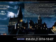 Miniaturka Gra online o Harry Potterze - Hogwart (hogwart-rpg.com)