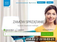 Miniaturka www.hojoclean.pl (Sprzątanie biur i sprzątanie mieszkań)