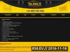 Miniaturka domeny www.hol-wroc.pl