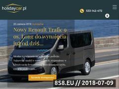 Miniaturka holidaycar.pl (Wypożyczalnia samochodów Rybnik)