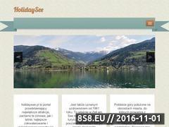 Miniaturka domeny www.holidaysee.pl