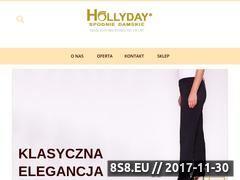 Miniaturka hollyday.pl (Producent spodni)