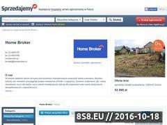 Miniaturka domeny homebroker.sprzedajemy.pl