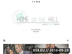 Miniaturka homeonthehill.pl (Blog lifestylowy - wnętrza, DIY, inspiracje)