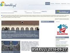 Miniaturka domeny homiki.pl