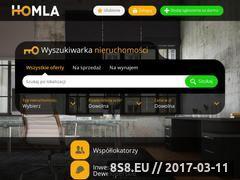 Miniaturka homla.pl (Ogłoszenia nieruchomości, domy i mieszkania)
